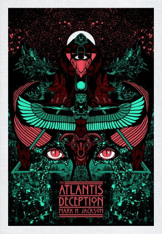 XWWX ATLANTIS NEON LAPIS Print